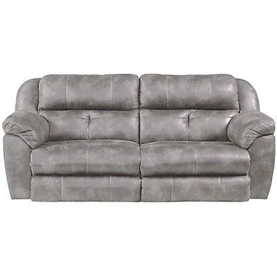 Farley Power Reclining Sofa With Power Headrest Steel