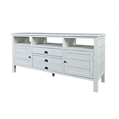 Cabot 70inch TV Stand - White Finish