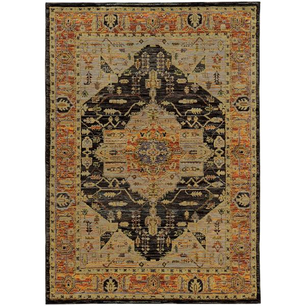 Ad B8317 Gd Gy Area Rug Star Furniture
