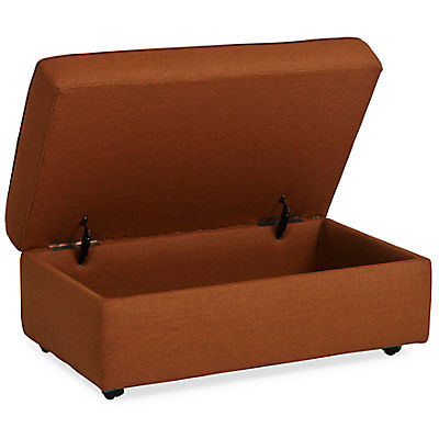 Kerry Cocktail Ottoman - COPPER