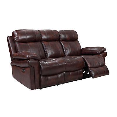 Joplin Leather Power Reclining Sofa