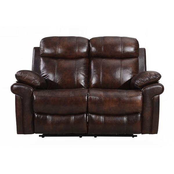 Joplin Leather Power Reclining Loveseat