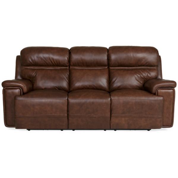 Fresno Leather Power Reclining Sofa