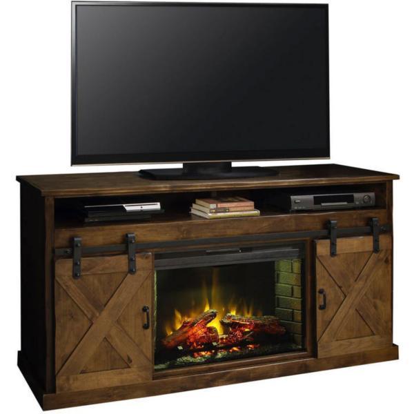 Titus Fireplace TV Stand