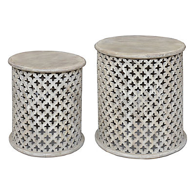 Martin Accent Tables, Set of Two