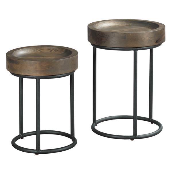 Triton Drink Tables, Set of Two