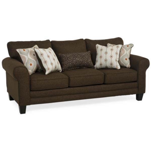 Omni Queen Sleeper Sofa - BROWN