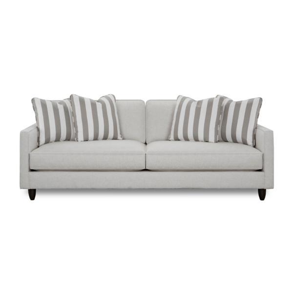 Stripes 95inch Sofa - PEWTER