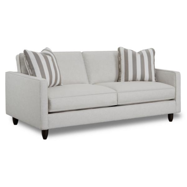 Stripes 80inch Sofa - PEWTER