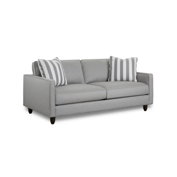 Stripes 80inch Sofa - SILVER