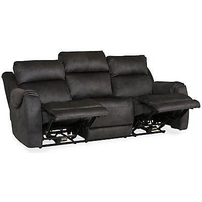 Safe Bet Power Reclining Sofa with Heat & Massage