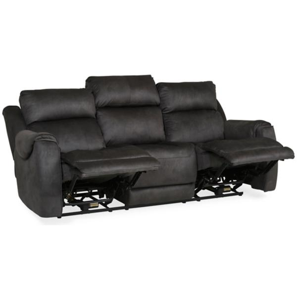 Safe Bet Power Reclining Sofa with Heat & Massage