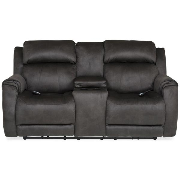 Safe Bet Power Reclining Loveseat with Heat & Massage