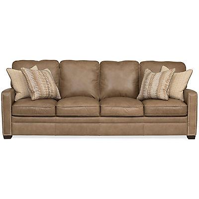 Dune Leather 4-Seat Sofa