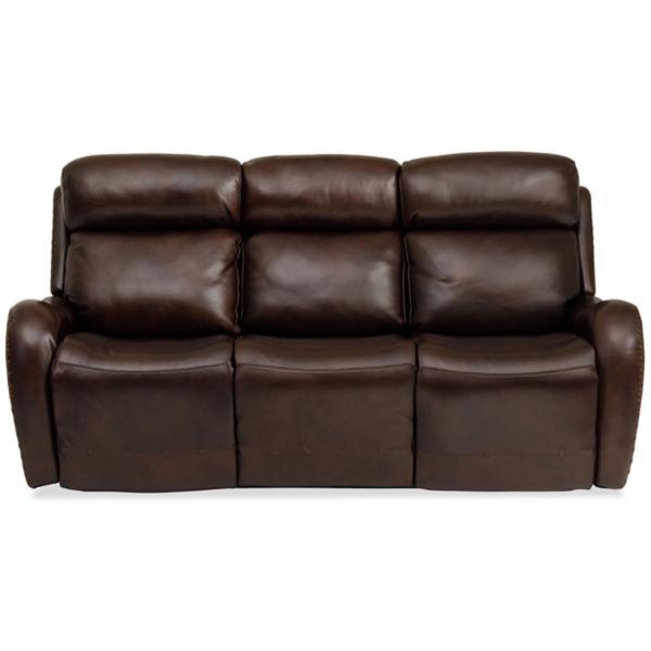 Chambers Leather Reclining Sofa