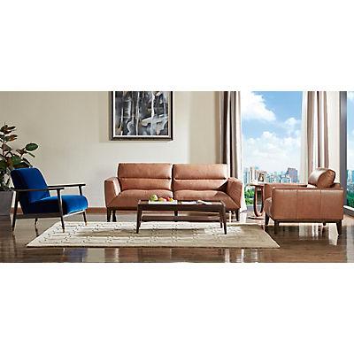 Jordan Leather Sofa