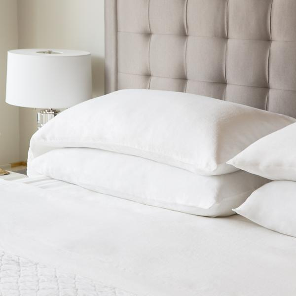 Woven French Linen Sheet Set - WHITE