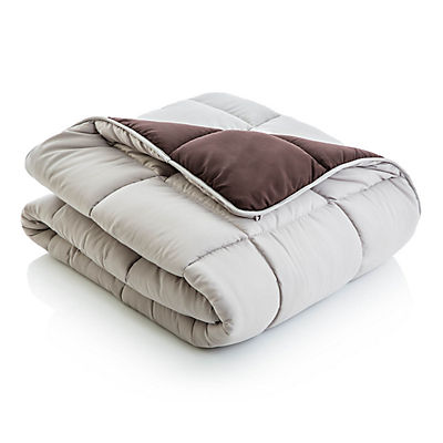 Woven Reversible Bed in a Bag - DRIFTWOOD/COFFEE - QUEEN