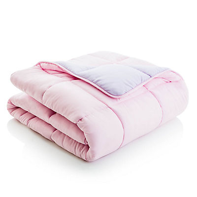 Woven Reversible Bed in a Bag - LILAC/BLUSH - TWIN