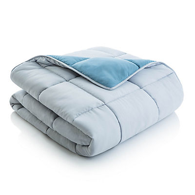 Woven Reversible Bed in a Bag - PACIFIC/ASH - TWIN