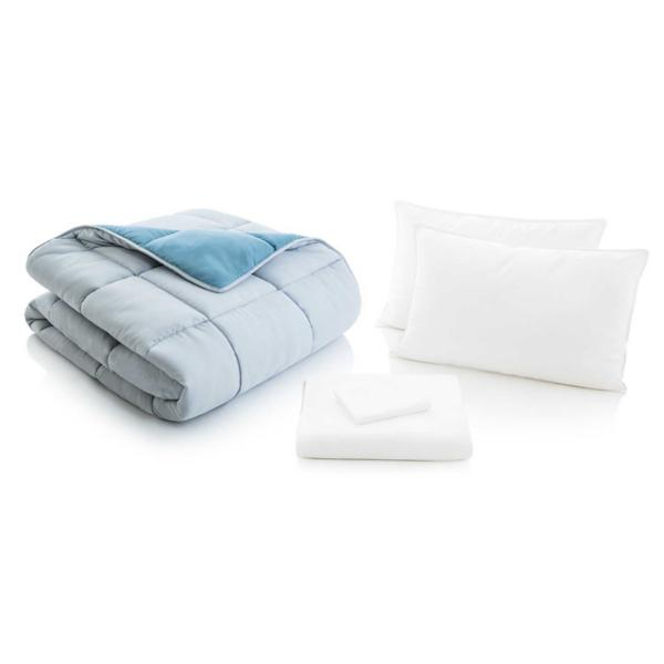 Woven Reversible Bed in a Bag - PACIFIC/ASH