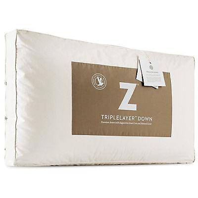 Malouf Z TripleLayer Down Pillow - QUEEN