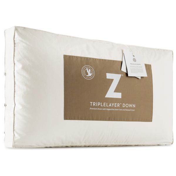 Z TripleLayer Down Pillow