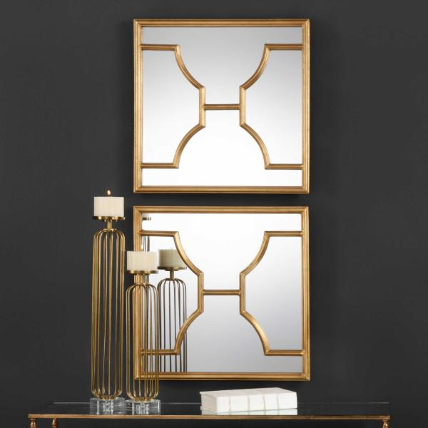 Maurelle Wall Mirror Set of 2