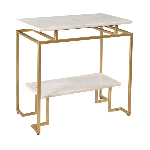 Burke 2 Tier Accent Table
