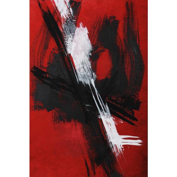 Fureur II Abstract Canvas