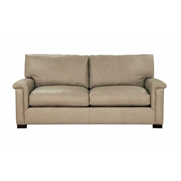 Colton Leather 2-Seat Sofa - CORDA