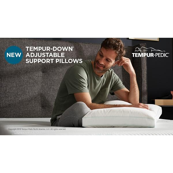 Tempur-Down Adjustable Support Pillow