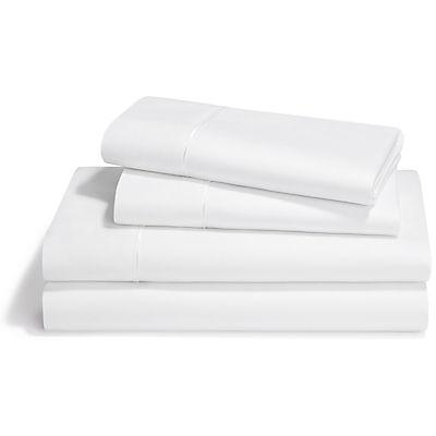 Tempur-Pedic Dimension III Pima Cotton Sheet Set - WHITE - QUEEN