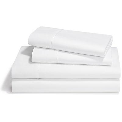 Tempur-Pedic Dimension III Pima Cotton Sheet Set - WHITE - SPLIT KING