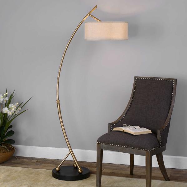 Dennis Arc Floor Lamp