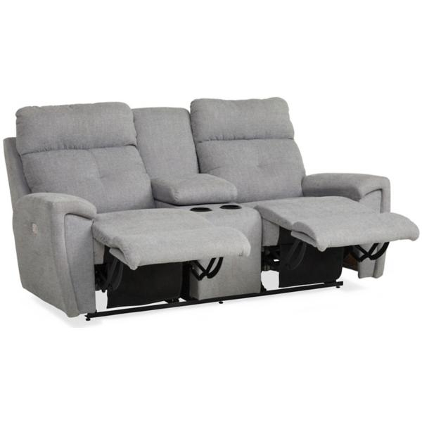 Douglas Power Reclining Console Loveseat