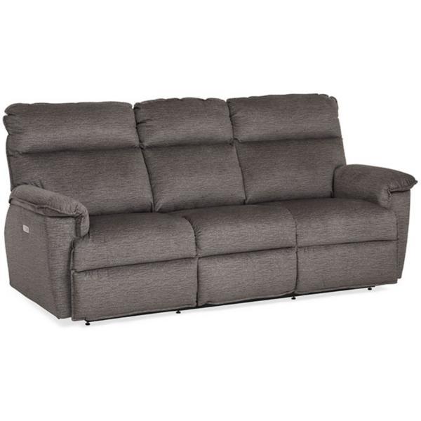 Jay Power Reclining Sofa - GREY