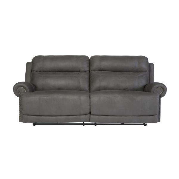 Adam Power Reclining Sofa - SLATE