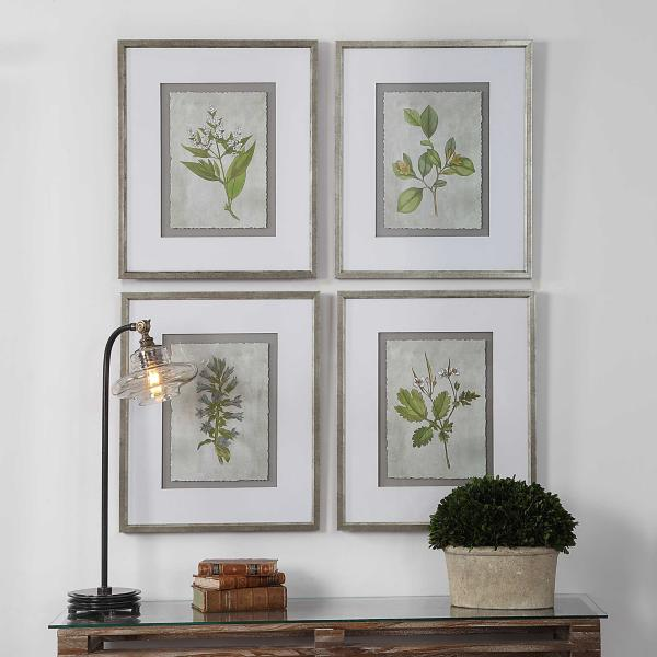 Tanglewood Framed Prints Set of 4
