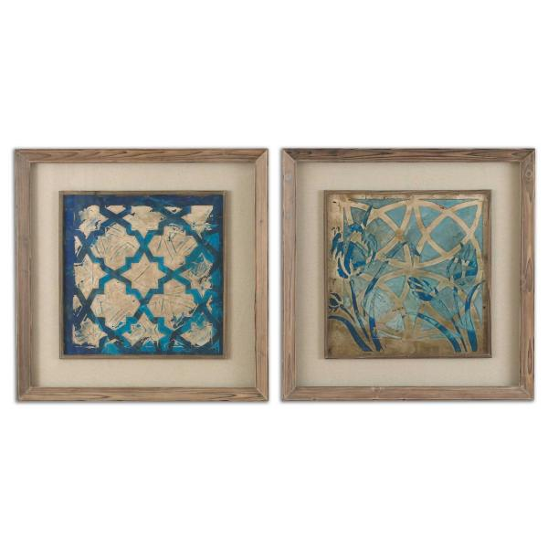 Rasnida Framed Prints Set of 2