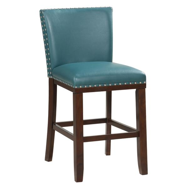 Tiffany Counter Stool - PEACOCK