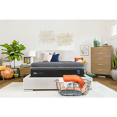 Sealy Hybrid Silver Chill Firm Mattress