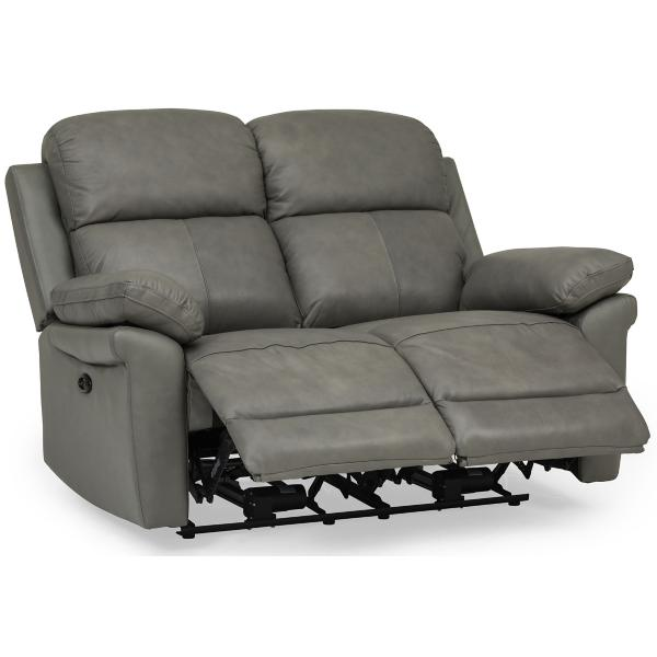 Champ Leather Power Reclining Loveseat