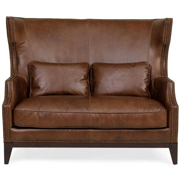Duet Leather Settee