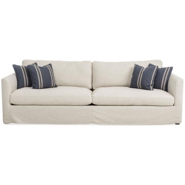 Luna 102 Inch Slipcover Sofa