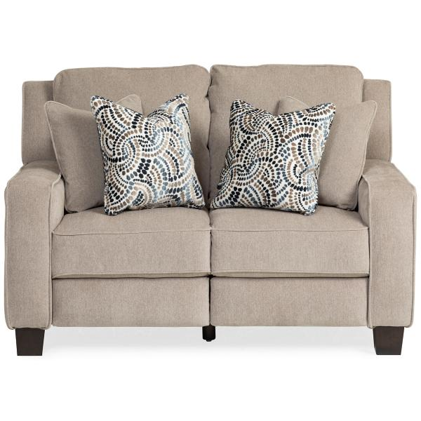 West End Power Reclining Loveseat - TAUPE
