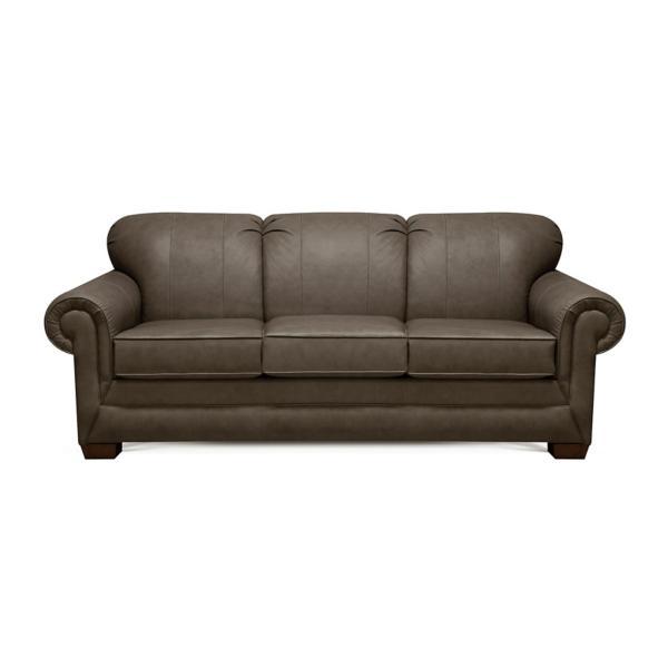 Monroe Leather Queen Air Sleeper Sofa - FOX