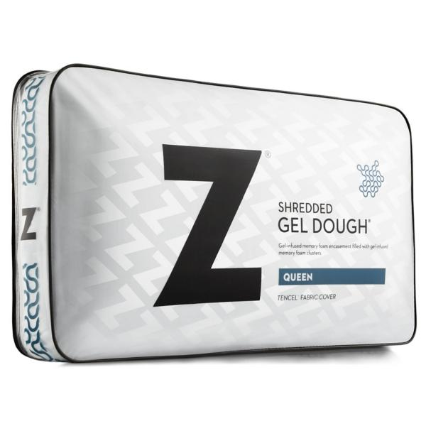 Malouf Shredded Gel Dough Pillow - QUEEN