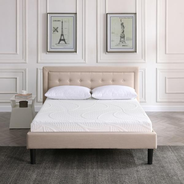 Classic Brands 7 Inch Gel  Memory Foam Mattress