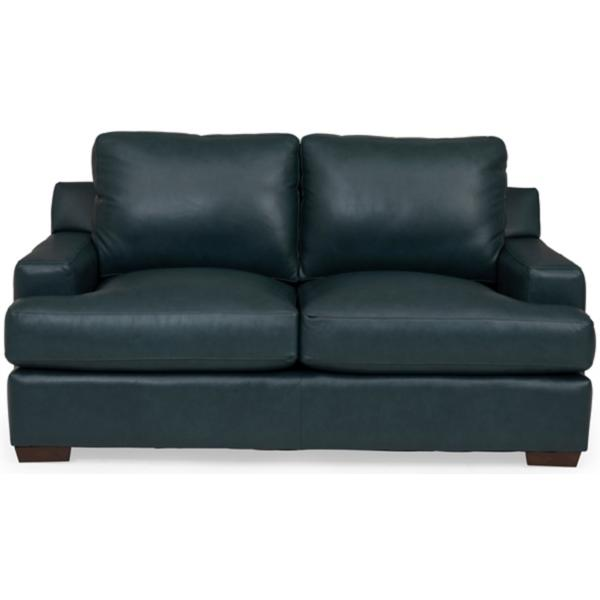 Levi Leather Loveseat
